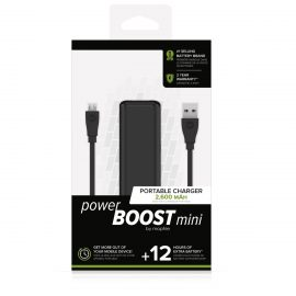 mophie power BOOST mini Black