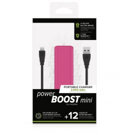 mophie power BOOST mini Pink