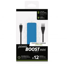 【取扱終了製品】mophie power BOOST mini Blue