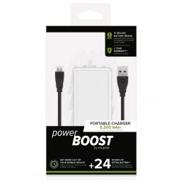 mophie power BOOST White