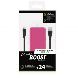 【取扱終了製品】mophie power BOOST Pink