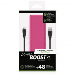 【取扱終了製品】mophie power BOOST XL Pink