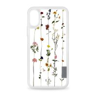 [docomo Select] Casetify iPhone X グリップ/ボタニカル