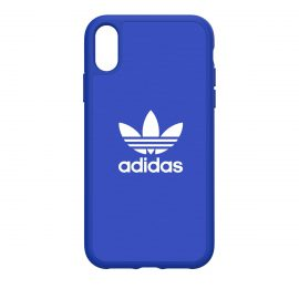 [docomo Select] adidas Originals Moulded Case adicolor iPhone XR Blue