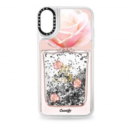 [docomo Select] Casetify iPhone XR Glitter Case Silver
