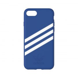 [au+1 Collection Select] adidas Originals Moulded Case for iPhone 8 Blue/White