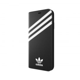 [au+1 Collection Select] adidas Originals SAMBA Book Case iPhone XS Max Black/White