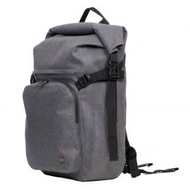【取扱終了製品】KNOMO Hamilton Backpack 15 Rolltop Gray