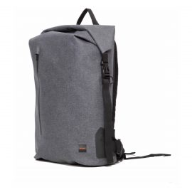 【取扱終了製品】KNOMO Cronwell Backpack 15 Rolltop Gray