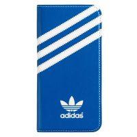 【取扱終了製品】adidas Originals Booklet Case iPhone 6 Blue/White