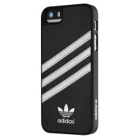 【取扱終了製品】adidas Originals Moulded Case iPhone SE Black/Silver