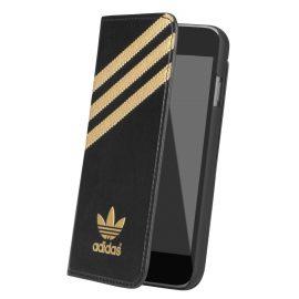 【取扱終了製品】adidas Originals Booklet Case iPhone 6 Black/Gold