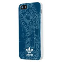 【取扱終了製品】adidas Originals TPU iPhone SE Blue Sole