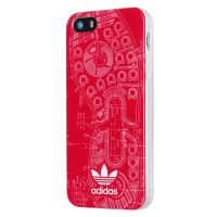【取扱終了製品】adidas Originals TPU iPhone SE Berry Sole