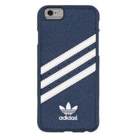 【取扱終了製品】adidas Originals Suede Moulded Case iPhone 6s Blue/White