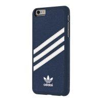 【取扱終了製品】adidas Originals Suede Moulded Case iPhone 6s Plus Blue/White