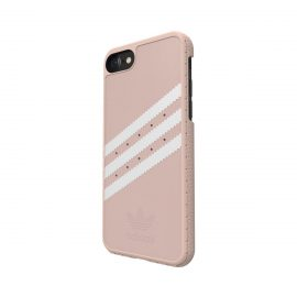 adidas Originals Suede Moulded Case iPhone 7 Vapour Pink/White