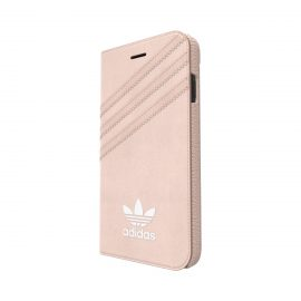 adidas Originals Suede Booklet iPhone 7 Vapour Pink/White