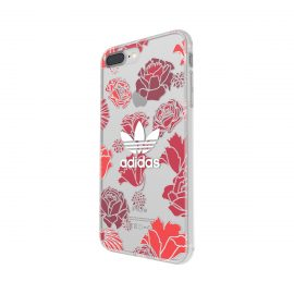 adidas Originals Clear Case iPhone 7 Plus Bohemian Red