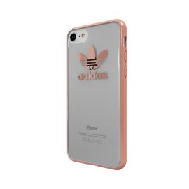 【取扱終了製品】adidas Originals TPU Clear Case iPhone 7 Rose Gold