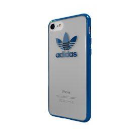 【取扱終了製品】adidas Originals TPU Clear Case iPhone 7 Blue Metallic