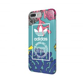 adidas Originals TPU Case iPhone 7 Plus Coral Graphic