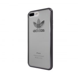 adidas Originals TPU Clear Case iPhone 7 Plus Gunmetal