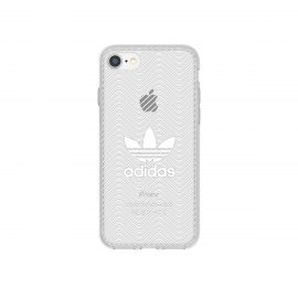 【取扱終了製品】adidas Originals Clear Case iPhone 7 Logo White