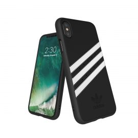 【取扱終了製品】adidas Originals Gazelle Moulded Case iPhone X Black/White