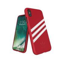 【取扱終了製品】adidas Originals Gazelle Moulded Case iPhone X Royal Red/White