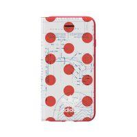 adidas Originals 70S Booklet Case iPhone 8 Red/White