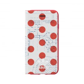 adidas Originals 70S Booklet Case iPhone 8 Red/White