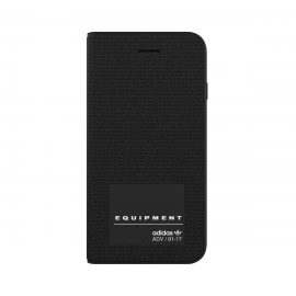 【取扱終了製品】adidas Originals EQT Booklet iPhone 8 Black