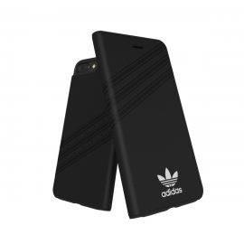 adidas Originals Gazelle Booklet Case iPhone 8 Plus Black/White