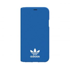 【取扱終了製品】adidas Originals TPU Booklet iPhone X Bluebird/White