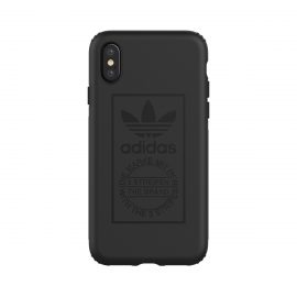 【取扱終了製品】adidas Originals TPU Hard Cover iPhone X Black
