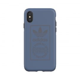 【取扱終了製品】adidas Originals TPU Hard Cover iPhone X Utility Blue