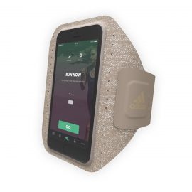 【取扱終了製品】adidas Performance Sport Armband iPhone 8 Sesame