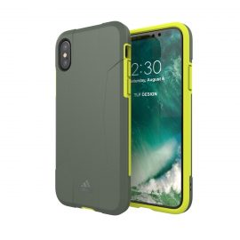 【取扱終了製品】adidas Performance Solo Case iPhone X Solar Yellow
