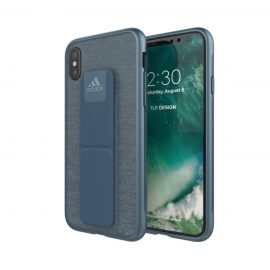 【取扱終了製品】adidas Performance Grip Case iPhone X Mystery Blue