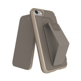 【取扱終了製品】adidas Performance Folio Grip Case iPhone 8 Sesame