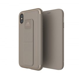 【取扱終了製品】adidas Performance Folio Grip Case iPhone X Sesame