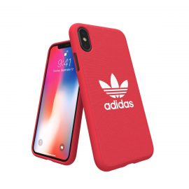 【取扱終了製品】adidas Originals adicolor Moulded Case iPhone X Red