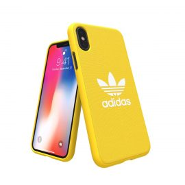 【取扱終了製品】adidas Originals adicolor Moulded Case iPhone X Yellow