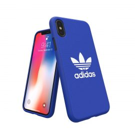 adidas Originals adicolor Moulded Case iPhone X Blue