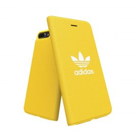 【取扱終了製品】adidas Originals adicolor Booklet Case iPhone 8 Plus Yellow