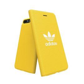 【取扱終了製品】adidas Originals adicolor Booklet Case iPhone 8 Plus Yellow