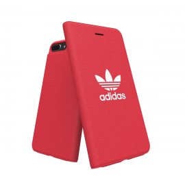 【取扱終了製品】adidas Originals adicolor Booklet Case iPhone 8 Plus Red