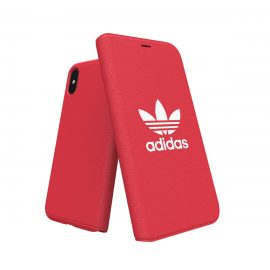 【取扱終了製品】adidas Originals adicolor Booklet Case iPhone X Red