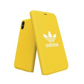 【取扱終了製品】adidas Originals adicolor Booklet Case iPhone X Yellow
